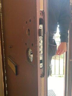 Repairing residential door lock
